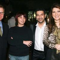 Ο Θάνος Αγγελάκης στην εκδήλωση για την παρουσίαση Ελαιοπουλάκι στο κτήμα Νασιουτζικ