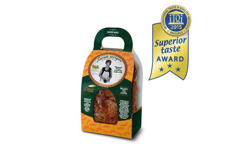 TQI 3 Star Superior Taste Award for Aggelakis S.A.