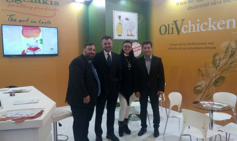 The OliVchicken made an impression at Anuga 2017
