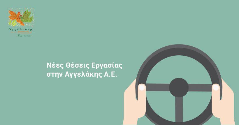 Ζητούνται οδηγοί στην Αγγελάκης Α.Ε.