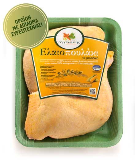 Μπούτι Κοτόπουλο Ελαιοπουλάκι