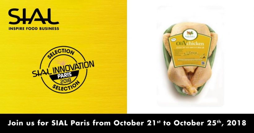 OliVchicken Nominated for Sial Innovation Awards 2018