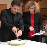 Σε κλίμα επιβράβευσης και αισιοδοξίας η κοπή της Πρωτοχρονιάτικης Πίτας της Αγγελάκης ΑΕ