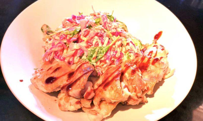 Coleslaw με Μπούτι Κοτόπουλο Ελαιοπουλάκι