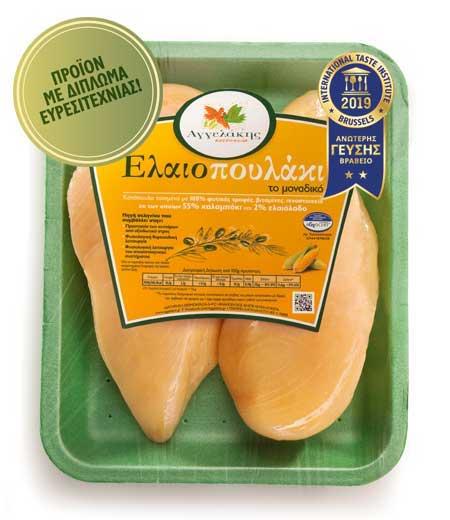 Στήθος Κοτόπουλο Ελαιοπουλάκι