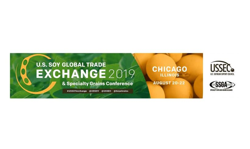 AGGELAKIS SA official guest at the World Soybean Congress in the USA