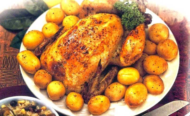 Κοτόπουλο γεμιστό