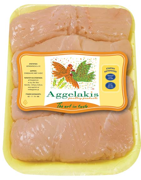 Chicken Breast Fillet Schnitzel