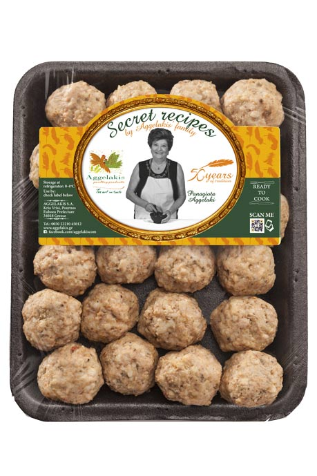Chicken Meatballs Aggelakis