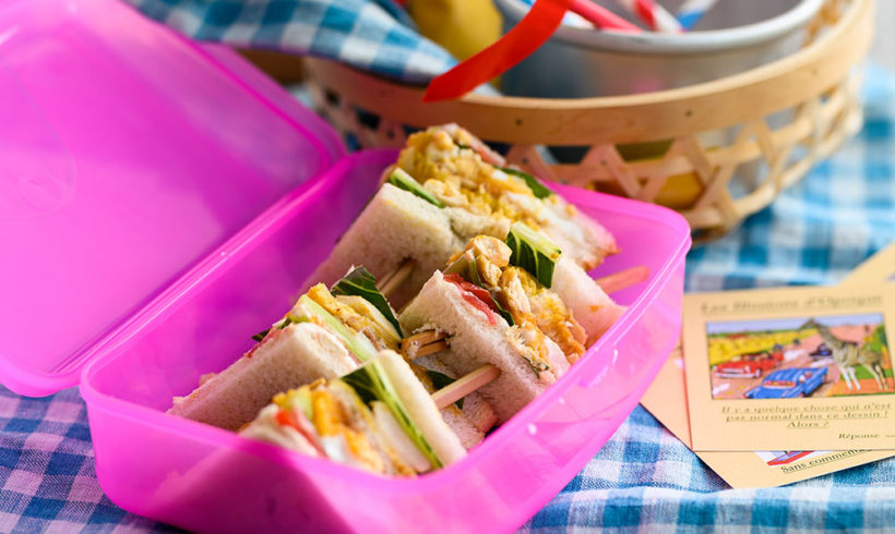 Club sandwich με φιλέτο στήθος κοτόπουλο Ελαιοπουλάκι Αγγελάκης