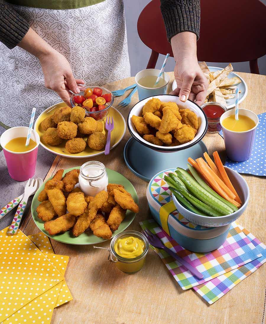 Προϊόντα Κοτόπουλου πανέ προψημένα