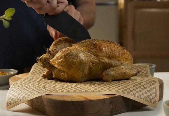 Απίστευτα ζουμερό κοτόπουλο στον φούρνο